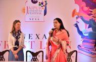 जेएलएफ में दीया कुमारी ने 'द कार्टियर्स' पुस्तक का किया विमोचन