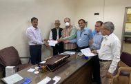 दिगंबर जैन अतिशय श्री महावीरजी कमेटी नेप्रदान की 5 लाख रुपए की सहायता