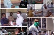 दंपति (पशु चिकित्सक-नर्सिंग ऑफिसर) ने अपनी ड्यूटी के साथ-साथ देश हित के लिए दिया एक सामाजिक संदेश